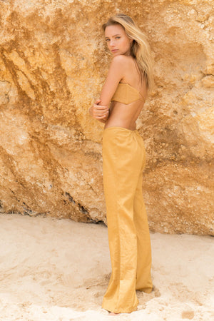 DESERT STAR PANTS - GOLDEN