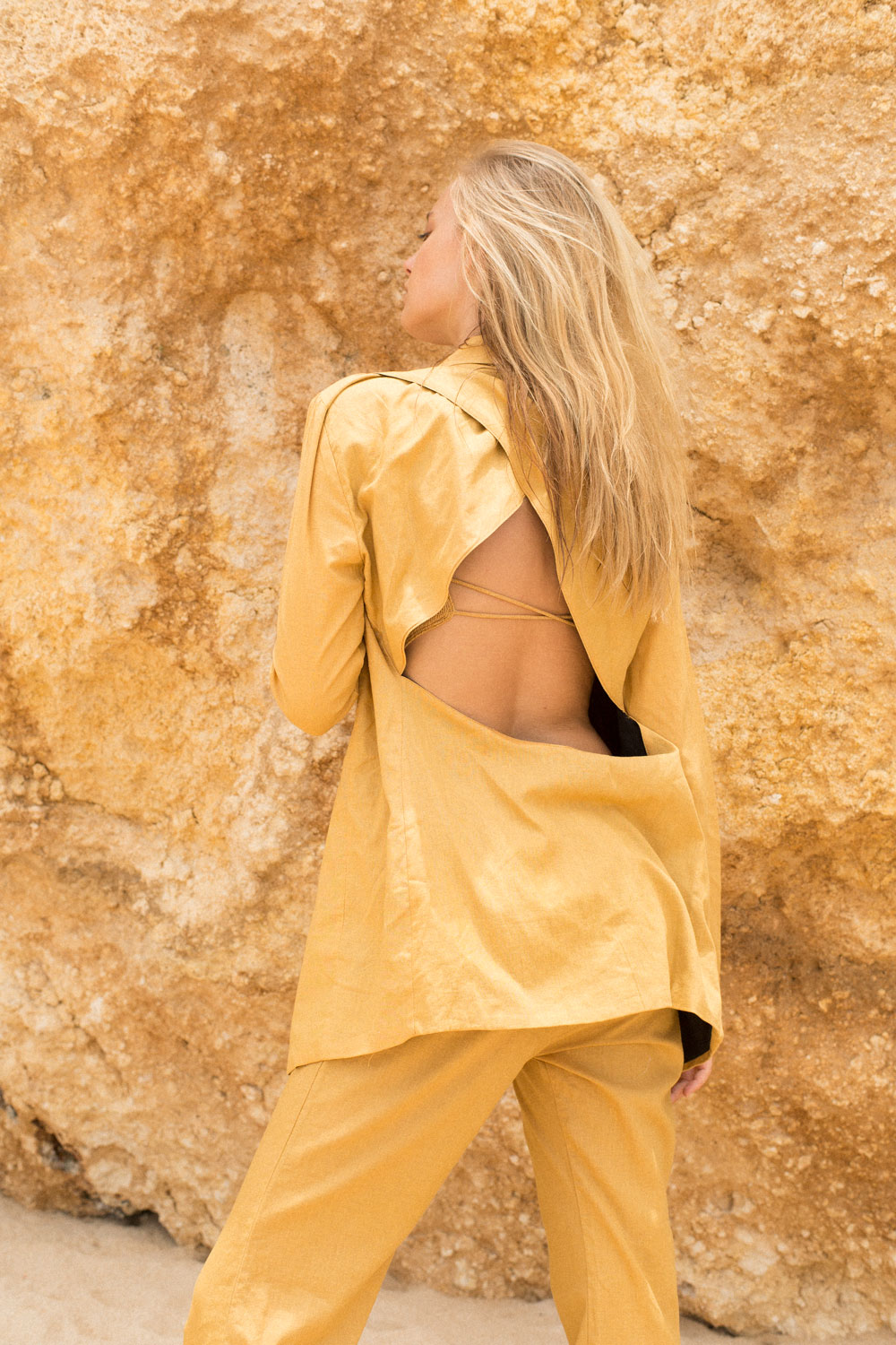 DESERT STAR BLAZER - GOLDEN