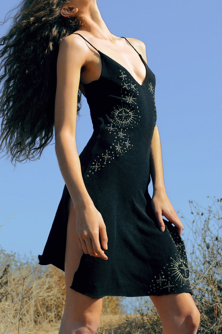 NATUUR DRESS - BLACK
