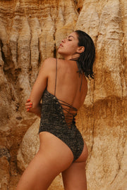 IN YOUR ARMS swimwear solar one piece eco concious ethically made knitted swimsuit mimi elashiry