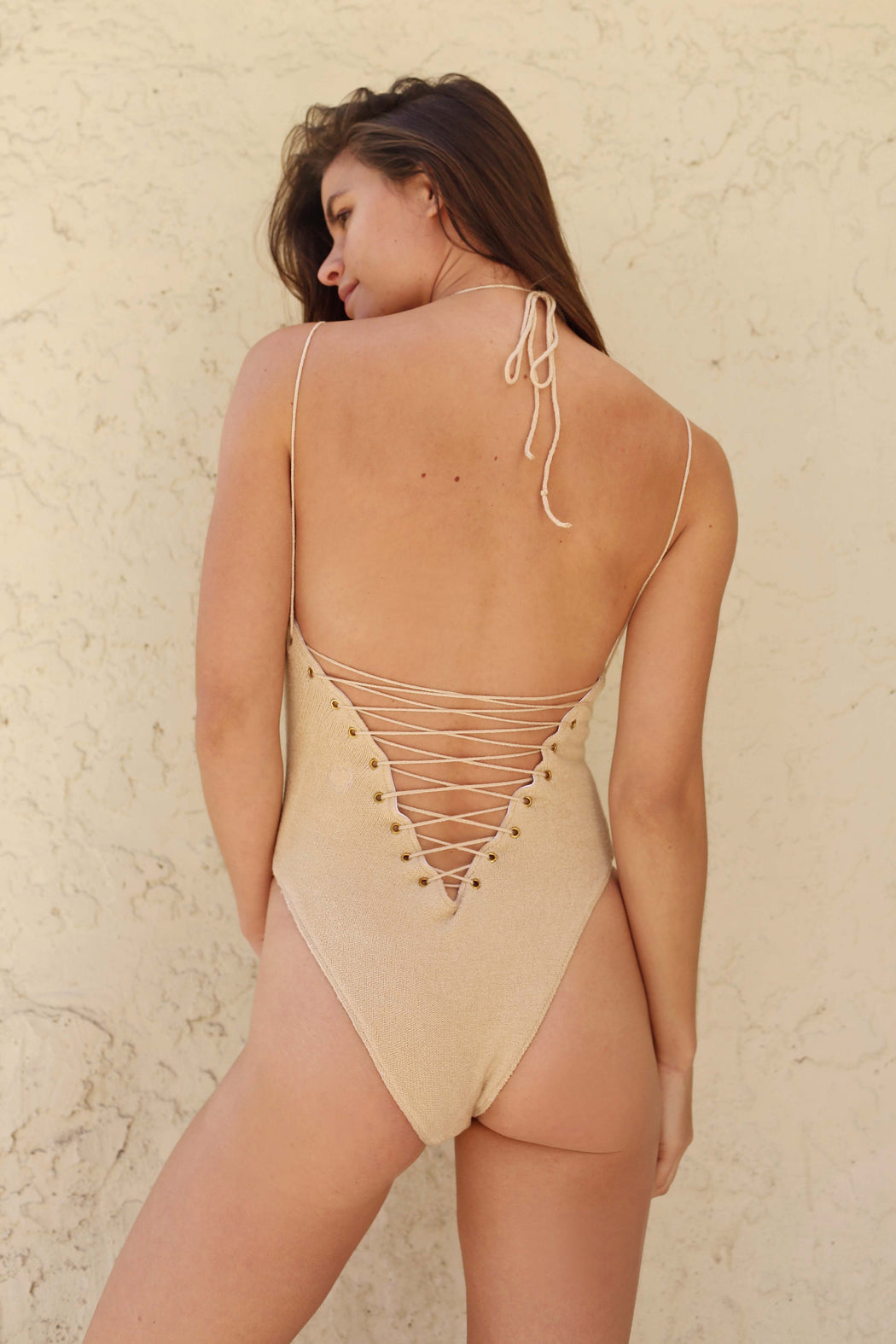 SOLAR ONE PIECE - NUDE