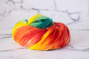Squishy 4-ply Tropical Lovebirds