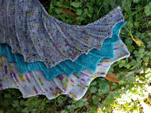 Bat Hug Shawlette - Digital download