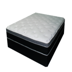 "PLUSH PILLOW TOP INNERSPRING MATTRESS (12"")"