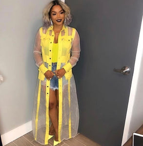 1 SLAY TRENCH in Yellow