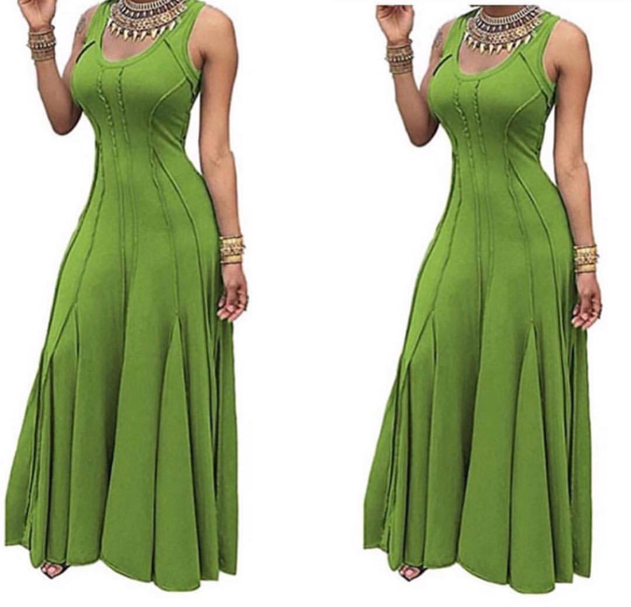 APPLE GREEN MAXI