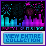 Party Like It's 1999® - Design 04 - View All Merchandise