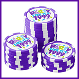 Party Like It's 1999® Design 01 Poker Chips