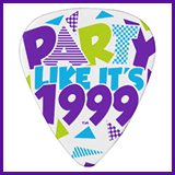 Party Like It's 1999® Design 01 Guitar Picks