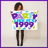 Party Like It's 1999® Design 01 Towels
