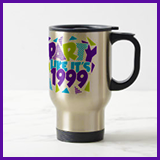 Party Like It's 1999® Design 01 Travel Mug