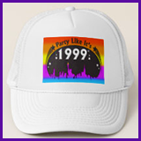 Party Like It's 1999® Design 02 Baseball Caps