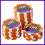 Party Like It's 1999® Design 02 Poker Chips