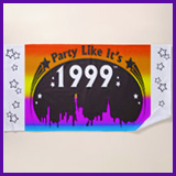 Party Like It's 1999® Design 02 Towel