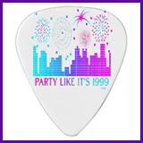 Party Like It's 1999® Design 04 Guitar Pick