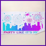 Party Like It's 1999® Design 04 Towel
