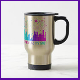 Party Like It's 1999® Design 04 Travel Mug
