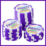 Party Like It's 1999® Design 06 Poker Chips