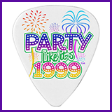 Party Like It's 1999® Design 06 Guitar Pick