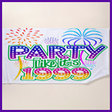 Party Like It's 1999® Design 06 Towel