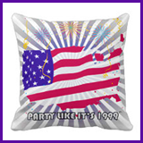 Party Like It's 1999® Design 07 Pillow