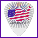 Party Like It's 1999® Design 07 Guitar Pick