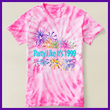Party Like It's 1999® Design 08 T-Shirts