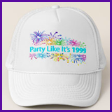 Party Like It's 1999® Design 08 Baseball Caps
