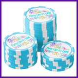 Party Like It's 1999® Design 08 Poker Chips