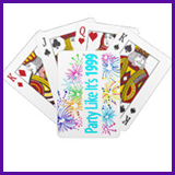 Party Like It's 1999® Design 08 Playing Cards