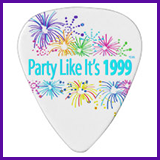 Party Like It's 1999® Design 08 Guitar Pick