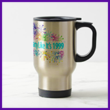 Party Like It's 1999® Design 08 Travel Mug