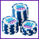 Party Like It's 1999® Design 09 Poker Chips