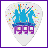 Party Like It's 1999® Design 09 Guitar Pick