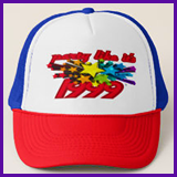 Party Like It's 1999® Design 10 Baseball Caps