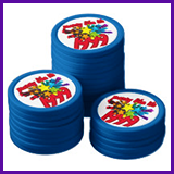 Party Like It's 1999® Design 10 Poker Chips
