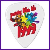 Party Like It's 1999® Design 10 Guitar Pick