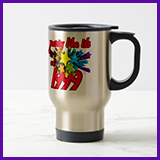 Party Like It's 1999® Design 10 Travel Mug