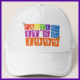 Party Like It's 1999® Design 12 Baseball Caps