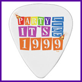 Party Like It's 1999® Design 12 Guitar Pick