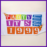 Party Like It's 1999® Design 12 Towel