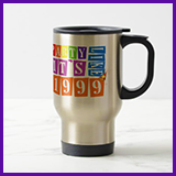 Party Like It's 1999® Design 12 Travel Mug