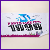Party Like It's 1999® Design 13 Towel