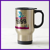 Party Like It's 1999® Design 13 Travel Mug