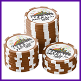 Party Like It's 1999® Design 15 Poker Chips