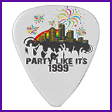 Party Like It's 1999® Design 15 Guitar Pick