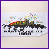 Party Like It's 1999® Design 15 Towel
