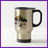 Party Like It's 1999® Design 15 Travel Mug