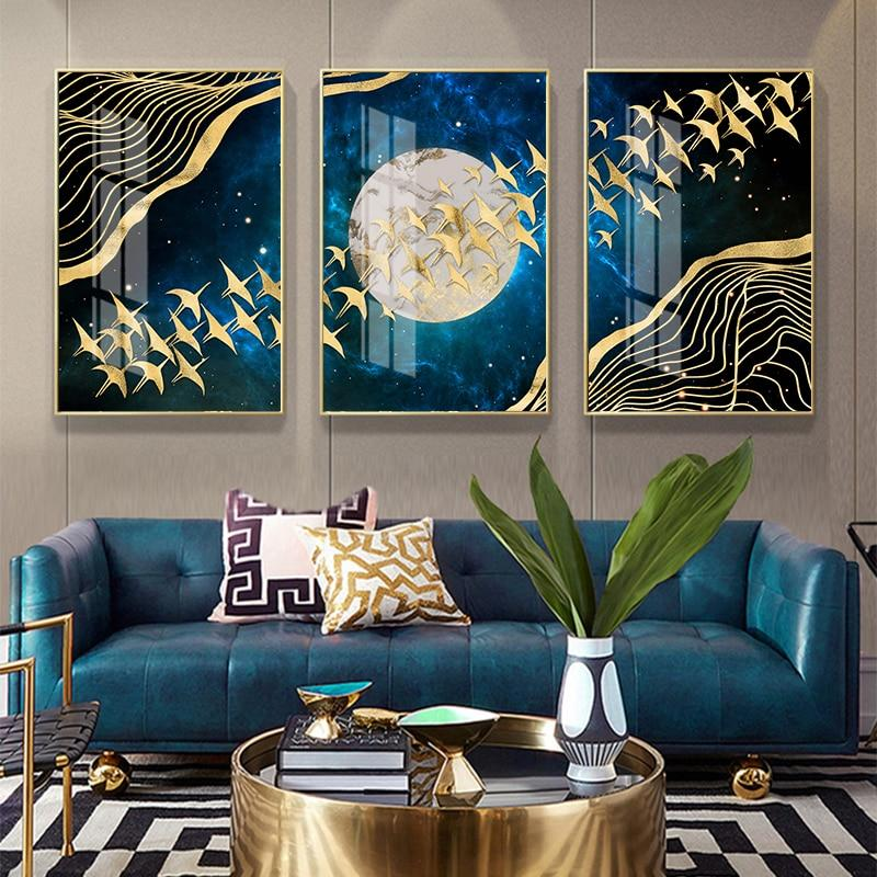 Abstract Moon Canvas Print - Fansee Australia