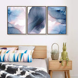 3 Piece Floating Framed Canvas Wall Art for Living Room, Bedroom Abstract Canvas Prints for Home Decoration Drop shipping